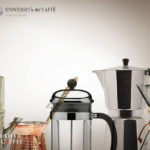 4つの抽出方法による飲み比べで自分好みのコーヒーを見つけるセミナー/illy UdC「Slow Preparation Workshop」