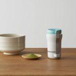 茶葉の栄養成分をまるごと摂取できるポータブルお茶ミル/東京商工社「Sururu(するる)」