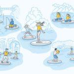 ヤンマーが開発した『Wheeebo(ウィーボ)』で創り出す、水辺の新たな「遊び」のアイデアを募集中