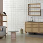 カリモク家具のブランド・KNSとコラボレーションした家具調のキッチンが誕生