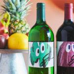 ノンアルコールバー「0%」から、ワインにするはずのぶどうを贅沢に使用した究極のノンアルコールワイン「g(ジー)」が登場!アートなラベルのオリジナルボトルは11月1日より予約開始